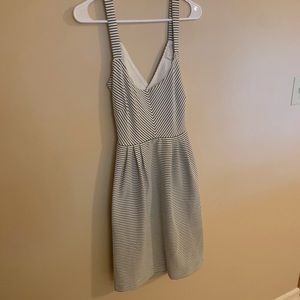 Anthropologie Open Back Dress